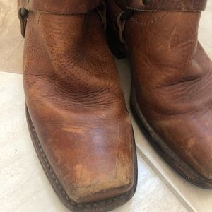 Frye Shoes - Frye leather harness boots